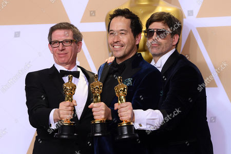 Editorial photo of 90th Annual Academy Awards, Press Room, Los Angeles, USA - 04 Mar 2018