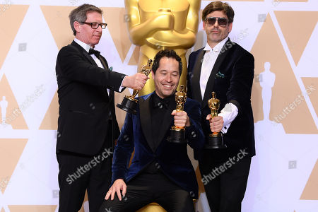 Editorial image of 90th Annual Academy Awards, Press Room, Los Angeles, USA - 04 Mar 2018