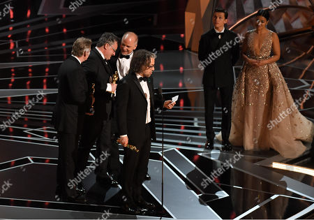 Editorial picture of 90th Annual Academy Awards, Show, Los Angeles, USA - 04 Mar 2018