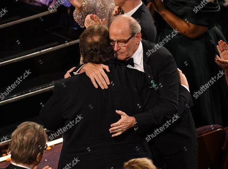Guillermo Del Toro and Richard Jenkins