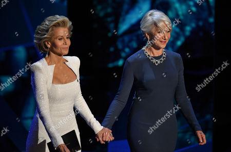 Jane Fonda and Helen Mirren