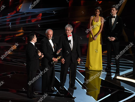Editorial image of 90th Annual Academy Awards, Show, Los Angeles, USA - 04 Mar 2018