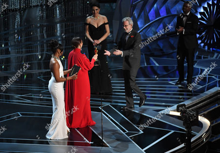 Frank Stiefel - Best Documentary Short Subject - 'Heaven is A Traffic Jam on the 405', presented by Tiffany Haddish and Maya Rudolph