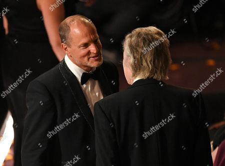 Woody Harrelson and Christopher Walken