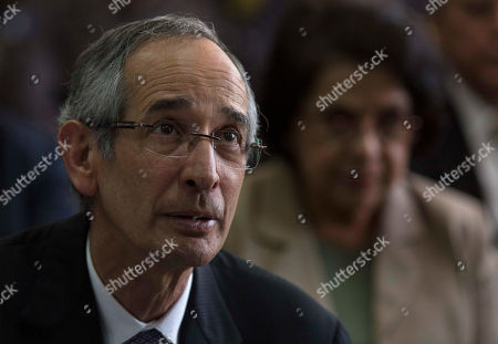 Stock Picture of Former Guatemalan President Alvaro Colom sits in a courtroom waiting to hear on whether he will be released, in Guatemala City, . Colom defended his actions Wednesday in a case of suspected corruption involving bus concessions, saying his order for a $35 million upgrade to the public transit system was legitimate