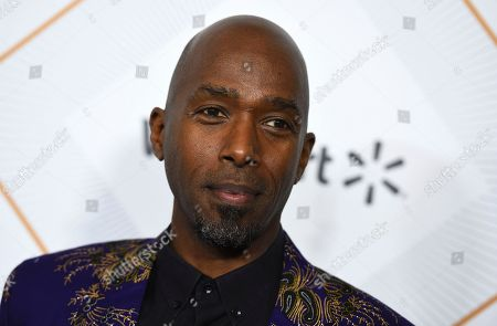 Ntare Guma Mbaho Mwine arrives at the 11th Annual Essence Black Women in Hollywood Awards Luncheon on in Beverly Hills, Calif