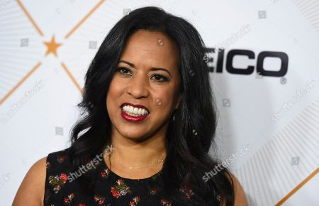 Michelle Ebanks arrives at the 11th Annual Essence Black Women in Hollywood Awards Luncheon on in Beverly Hills, Calif