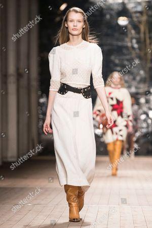 Editorial image of Isabel Marant - Runway - Paris Fashion Week Ready to Wear F/W 2018/2019, France - 01 Mar 2018