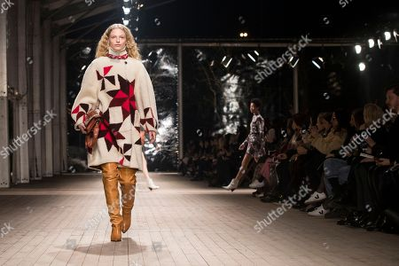 Editorial image of Isabel Marant - Runway - Paris Fashion Week Ready to Wear F/W 2018/2019, France - 01 Mar 2018