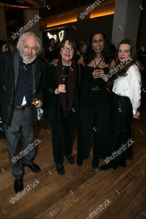 Michael Pennington (Isak Jacobi/Death), Lolita Chakrabarti (Alma Ekdahl/Helena Vergerus) and Catherine Walker (Emilie Ekdahl)