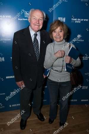 Stock Picture of Timothy West and Prunella Scales