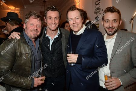 Charley Boorman, Nick English, Tom Parker Bowles, guest