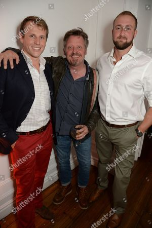 Charley Boorman, centre and guests