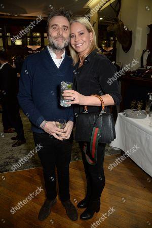 Philip Knatchbull and wife, Wendy Knatchbull