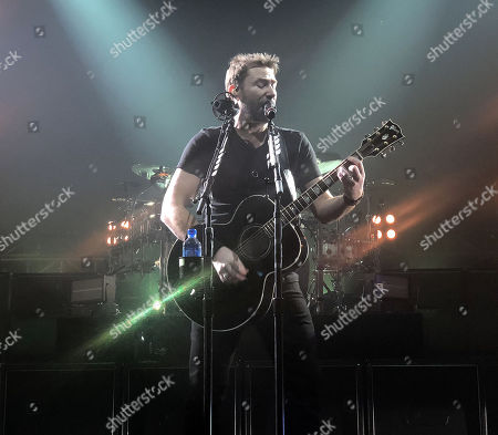 Editorial picture of Nickelback in concert at The Joint Hard Rock Hotel & Casino, Las Vegas, USA - 27 Feb 2018