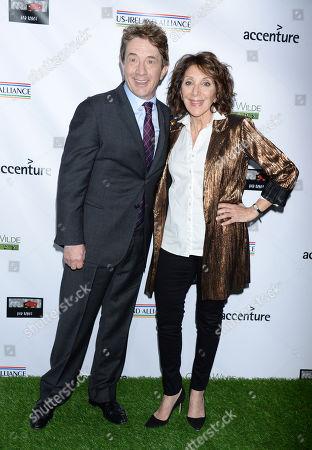 Martin Short and Andrea Martin