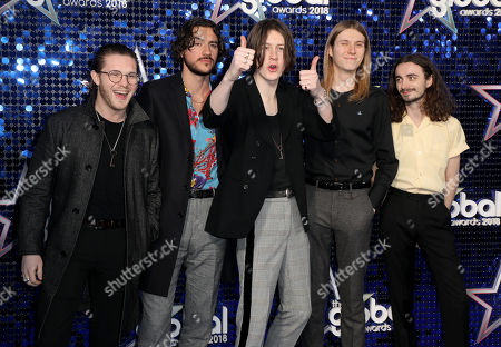 Blossoms - Tom Ogden, Charlie Salt, Josh Dewhurst, Joe Donovan and Myles Kellock
