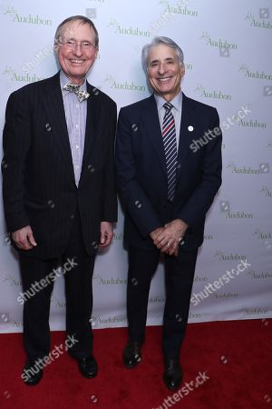 Thomas Lovejoy and David Yarnold, President and CEO of the National Audubon Society