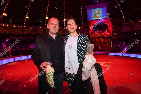 Heinz Georg Kramm Ferch with wife Marie-Jeanette