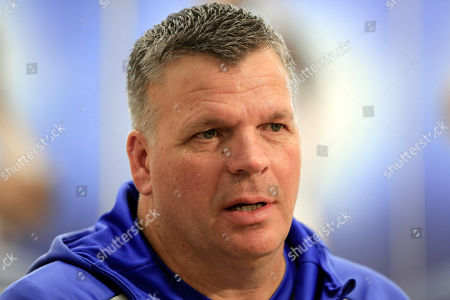 Creighton basketball coach Greg McDermott speaks in Omaha, Neb., . McDermott's high-risk decision to bring in Marcus Foster as a transfer three years ago has been highly rewarding for himself, Foster and the program
