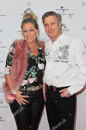 Claudia Jung mit Ehemann Hans Singer,..