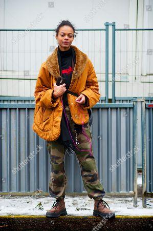 Editorial photo of Street Style Fall Winter 2018 Paris Fashion Week France - 01 Mar 2018
