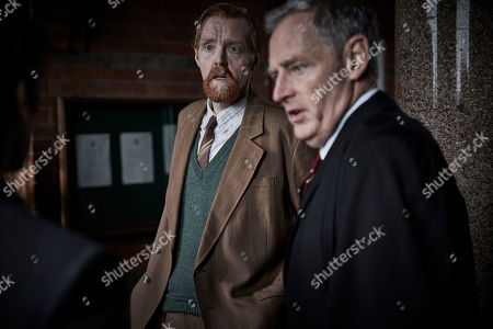Andrew Buckley as Mr Alun Bodnar and Michael Simkins as Headmaster Baldwin Mackenzie.