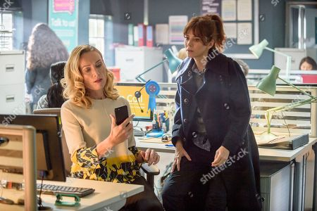 Anna Friel as Marcella and Victoria Smurfit as Maya.