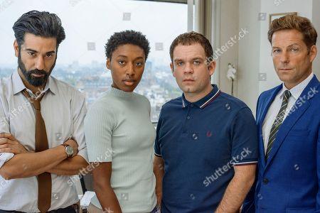 Ray Panthaki as Rav, Sophia Brown as Leann, Jack Doolan as Mark and Jamie Bamber as Tim.