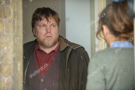 Stock Photo of Anna Friel as Marcella and Andrew Tiernan as Nigel.