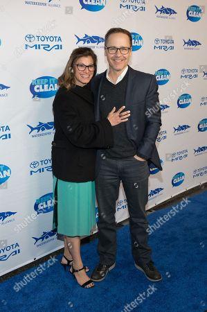 Kim and Chad Lowe