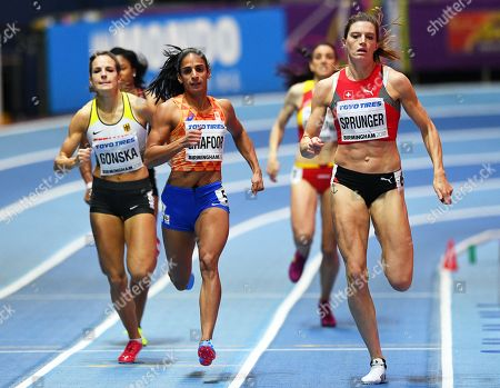 Stock Picture of Lea Sprunger, Madiea Ghafoor and Nadine Gonska