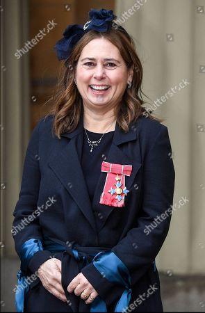 Alexandra Shulman, Former Editor of British Vogue wearing her CBE