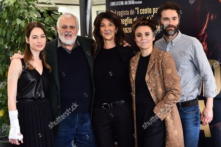 Editorial picture of 'Nome di Donna' photocall, Rome, Italy - 02 Mar 2018