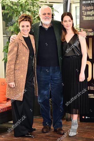 Michela Cescon, Tullio Giordana and Cristiana Capotondi