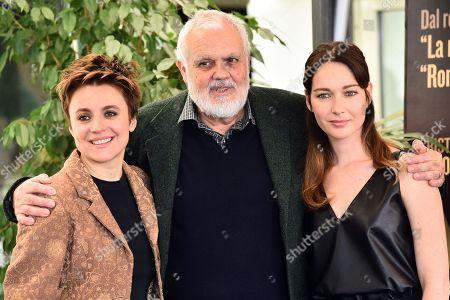 Michela Cescon, Marco Tullio Giordana and Cristiana Capotondi