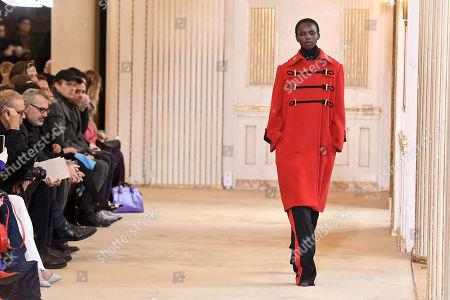 Editorial image of Nina Ricci - Runway - Paris Fashion Week Ready to Wear F/W 2018/2019, France - 02 Mar 2018