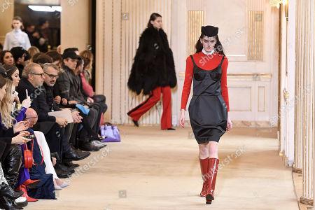 Editorial picture of Nina Ricci - Runway - Paris Fashion Week Ready to Wear F/W 2018/2019, France - 02 Mar 2018