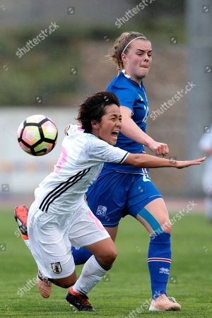 Editorial picture of Soccer Algarve Cup, Parchal, Portugal - 02 Mar 2018