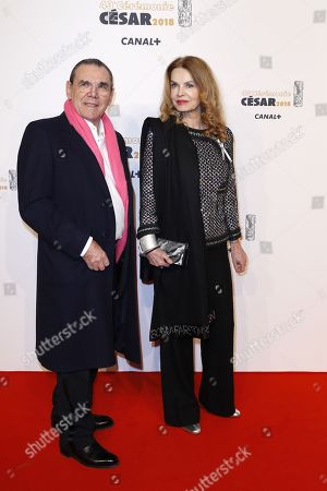 Cyrielle Clair and Michel Corbiere