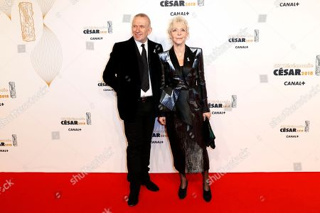 Jean Paul Gaultier and Tonie Marshall