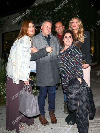 Ariadna Gutierrez, Ross Mathews, Marissa Jaret Winokur and Brandi Glanville