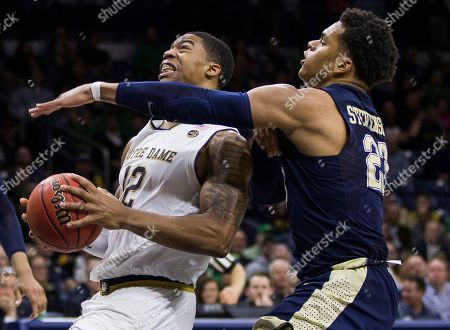 Editorial image of Pittsburgh Notre Dame Basketball, South Bend, USA - 28 Feb 2018