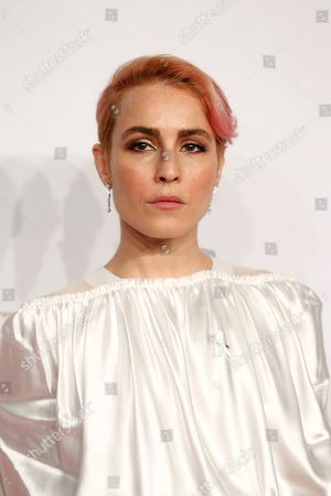 Actress Noomi Rapace arrives at the 43rd Cesar Film Awards ceremony at Salle Pleyel in Paris, . French film stars including Juliet Binoche are calling for quotas to guarantee that more government film subsidies go to movies directed by women