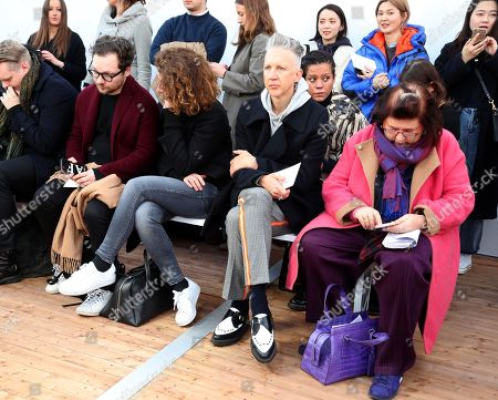 Jefferson Hack in the Front Row with Suzy Menkes