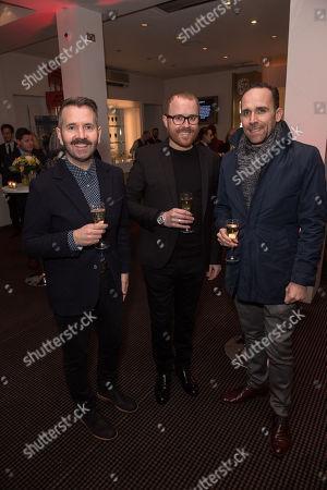 Rhodri Evans, Adam Knopf, and Lee Haven Jones