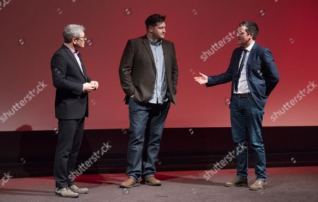 Jason Solomons, Gareth Evans and Ed Talfan