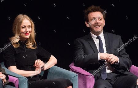 Elen Rhys and Michael Sheen