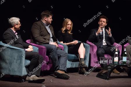 Jason Solomons, Gareth Evans, Elen Rhys, Michael Sheen