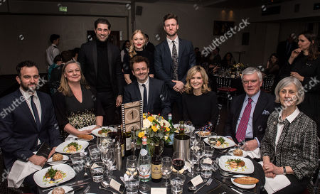 Jasper Warry, guest, Matt Johnson, Elen Rhys, Michael Sheen, guest, Angharad Mair, Huw Wynne Griffith and Helen Wynne Griffith